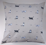 "Cushion Cover in Sophie Allport Purrefct Cats 14"" 16"" 18"" 20"""